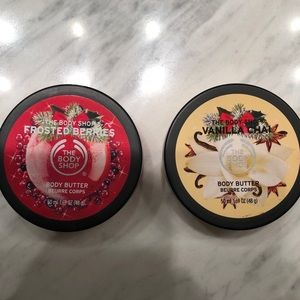The Body Shop Winter Edition Body Butters